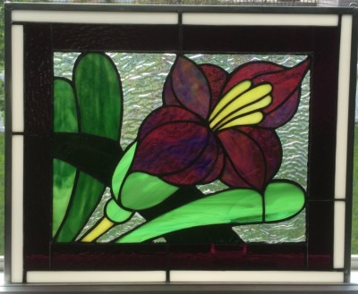 stained glass lillie